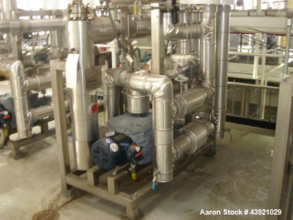 Used Watlow Temperature Control Skid Stainless