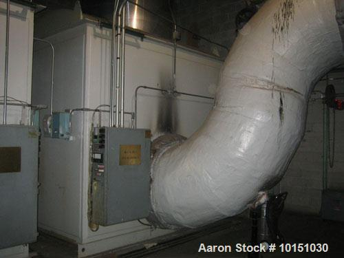 Used-HRSG. No process steam, just hot H2O. Minimum H2O flow rate 226,500 lb/hr with inlet 60 psig.