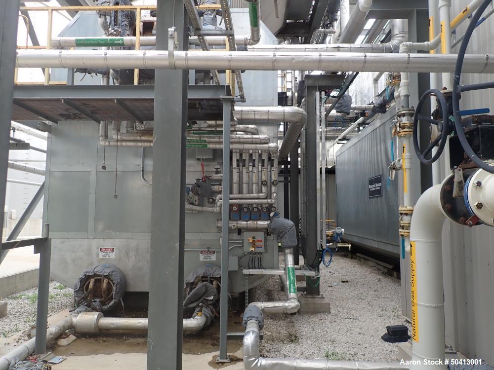 Used- English Boiler and Tube Water Tube Boiler, Model 250 AHWT 250