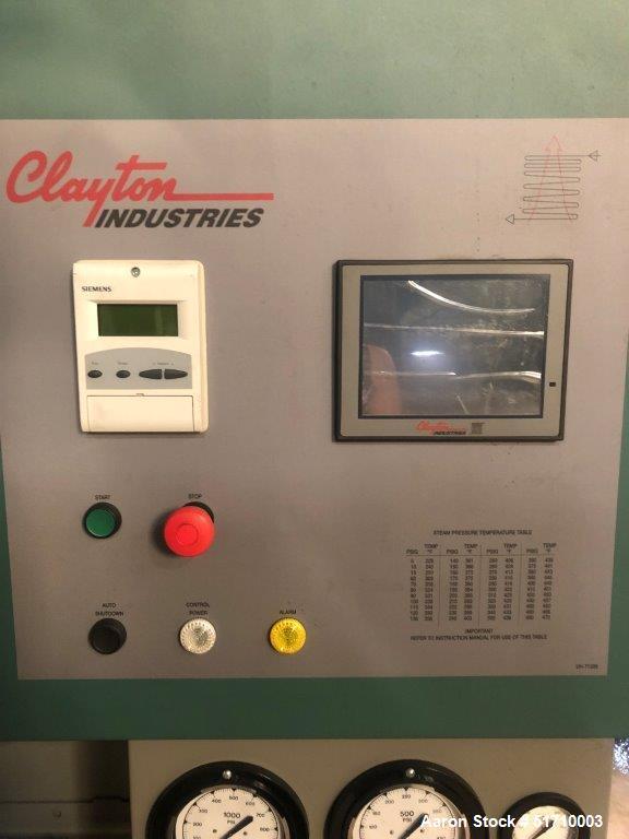 Unused- Clayton Industries Model EOG-404-1 Steam Generator