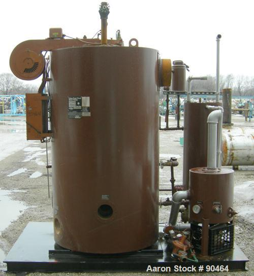 Used Fulton Fuel Fired Steam Boiler Model Fb 03