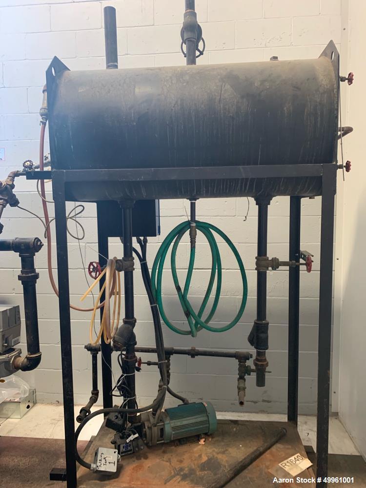 Used- Hurst Vertical Steam Boiler, Model 4VT-G-80-150.