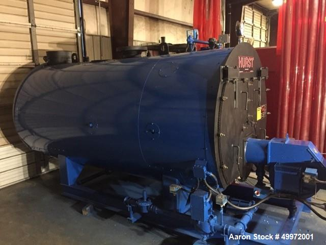 Used Hurst Steam Boiler; 100 HP