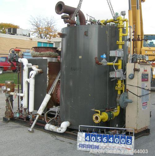 Used- Miura High Pressure Steam Boiler, model EX-