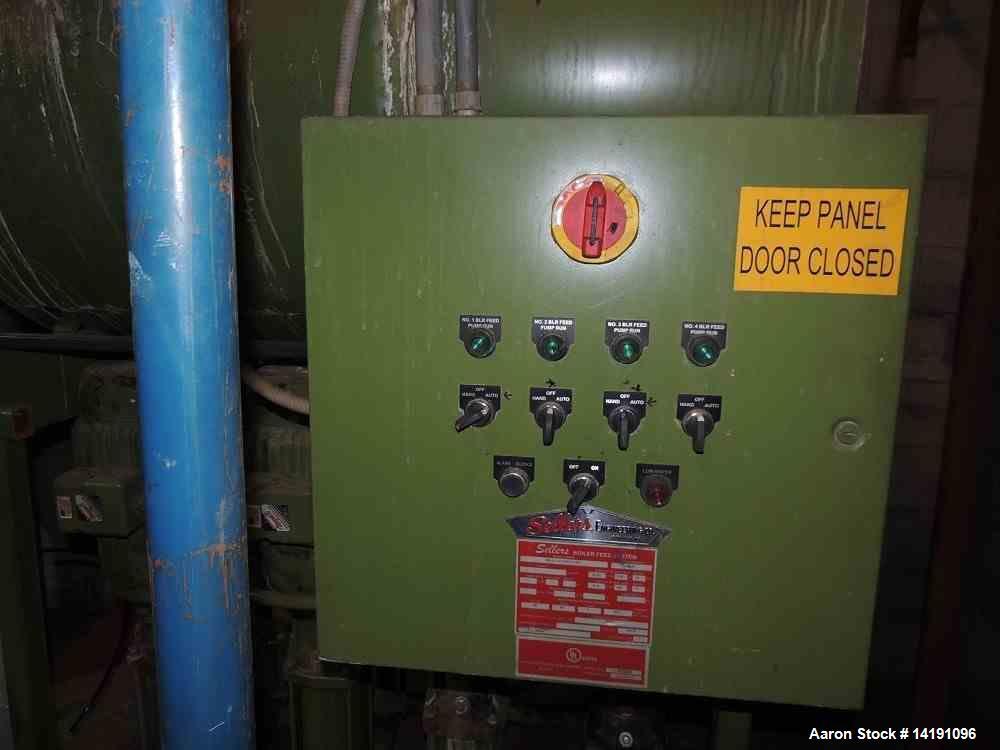 Used- 200PSI Steam Boiler. Mfg Sellers Engineering