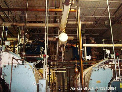 Used-York Shipley 600 hp High Pressure Steam Boiler, Model SPHC-600-N 174 061.  20,085,000 btu/hour, 480 vac, 60 hz.  Manufa...