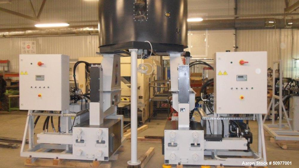 Used- Ump Technika Hydraulic Wood Briquette Press