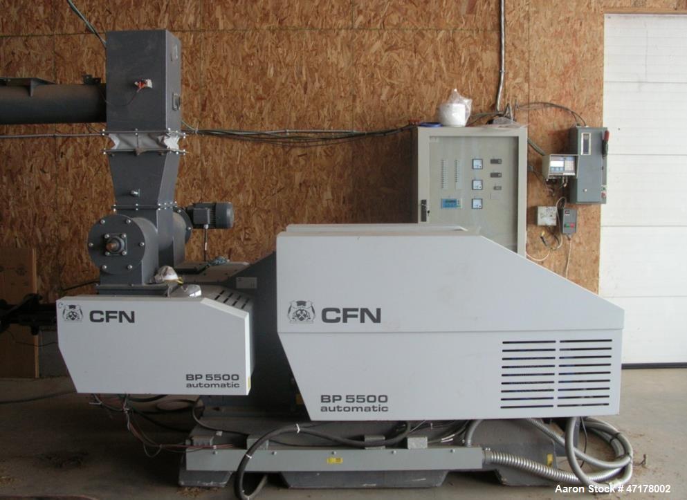 Used- CF Nielsen Biomass Briquetter, Model 5500 HD (Heavy Duty)