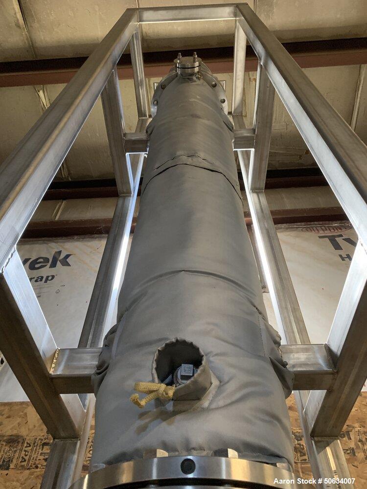 "Used- Custom Built ""Big Bertha"" Falling Film Evaporator for CBD and Hemp Process"