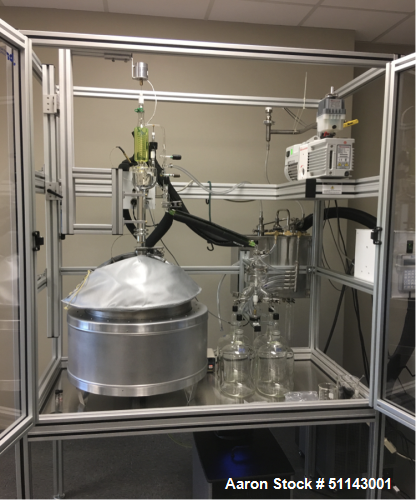 Used- B/R Instrument Corp Spinning Band Distillation System
