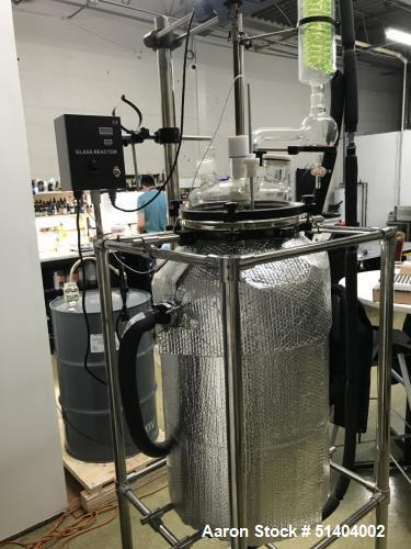 Used- Lab1st 100 L Jacketed Glass Reactor