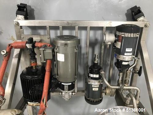 Used- YellowStone Extraction Company Falling Film Evaporator