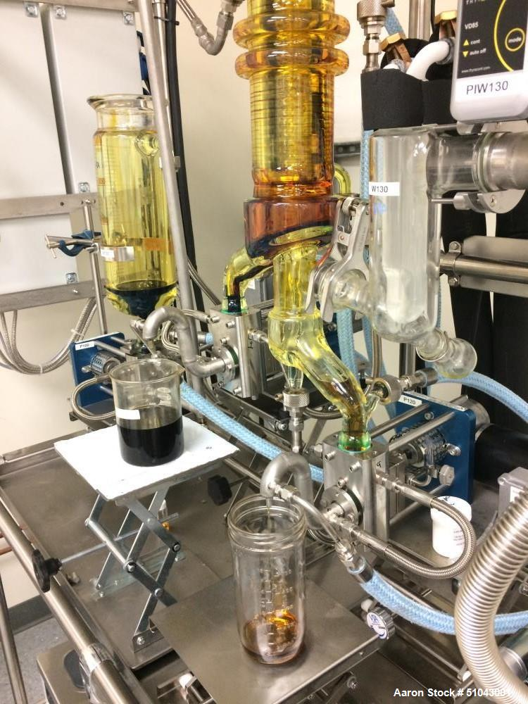 Used- VTA Wiped Film Short Path Distillation System for Hemp and Cannabis