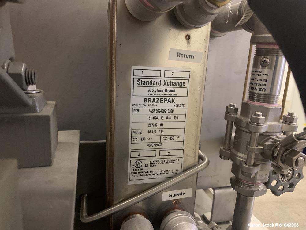 Used-Delta Falling Film Evaporator
