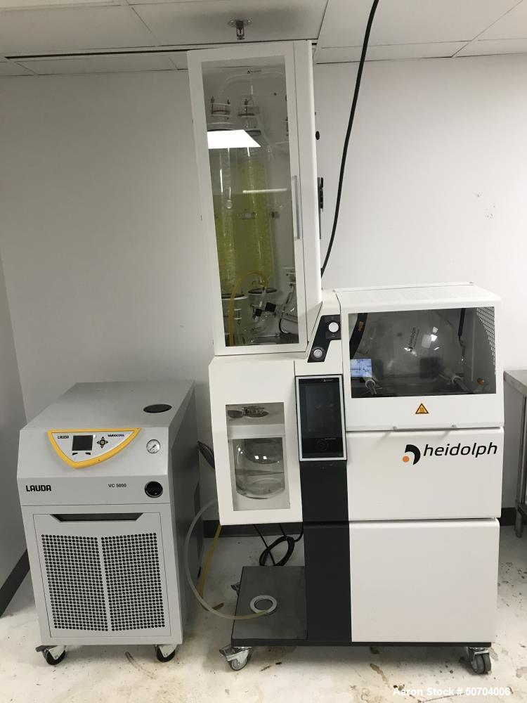 Used- Heidolph HBX 20 L Rotary Evaporator Package with Hei-CHill 5000 Chiller