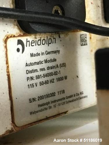 Used-Heidolph HBX 20L Industrial Rotary Evaporator