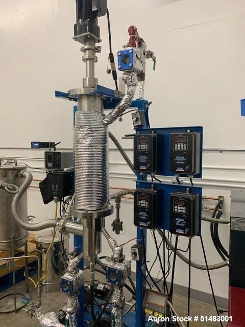 Used- Pope Continuous Feed Single Stage Thin Film Distillation System