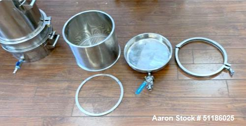 Used-Lot of (5) Stainless Steel Winterization Filtration Systems