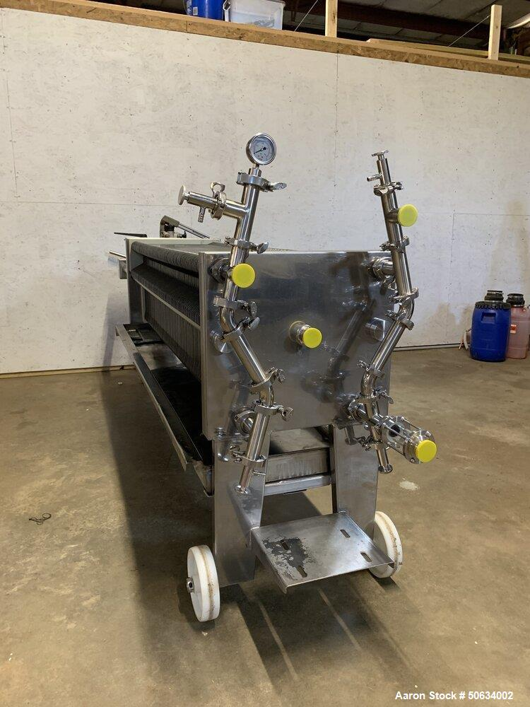 Used- Della Toffola 100 Plate Sheet Filter for CBD &Hemp Processing