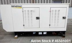 Used- Generac 70 kW Standby (63 kW Prime) Natural Gas Generator Set, Model SG07