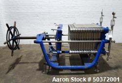 Used- Carlson Filtration Filter Press for Cannabis and Hemp