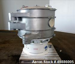 """Used-Dewco 48"""" Diameter Vibratory Screener for the Cannabis and Hemp Industries"""