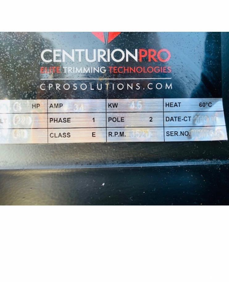 Used- Centurion Pro. Model 3.0. Medical Grade Cannabis Trimmer