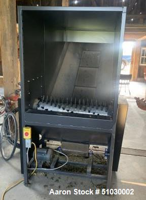 Unused- Agnew Processing Hemp Shucker with Conveyor and Super Sack Collection