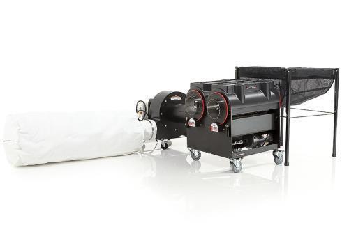 Used- CenturionPro Gladiator Trimming Machine with Dual-Purpose Hybrid Electropo
