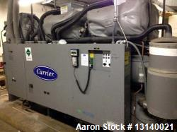 Used- Carrier 271 Ton Screw Type Chiller for Cannabis and Hemp