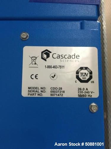 Used- Cascade Sciences Drying Decarb Oven