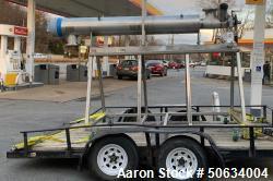 Used- Union Carbide Liquid Nitrogen Biomass Freezer for CBD/Hemp Processing