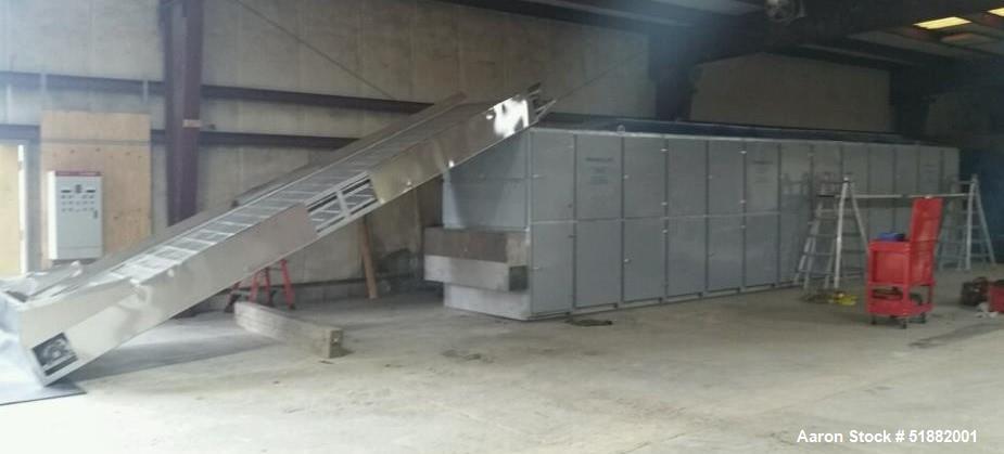 Used-Shanghai Shanqiao Machinery Four Pass Belt Dryer