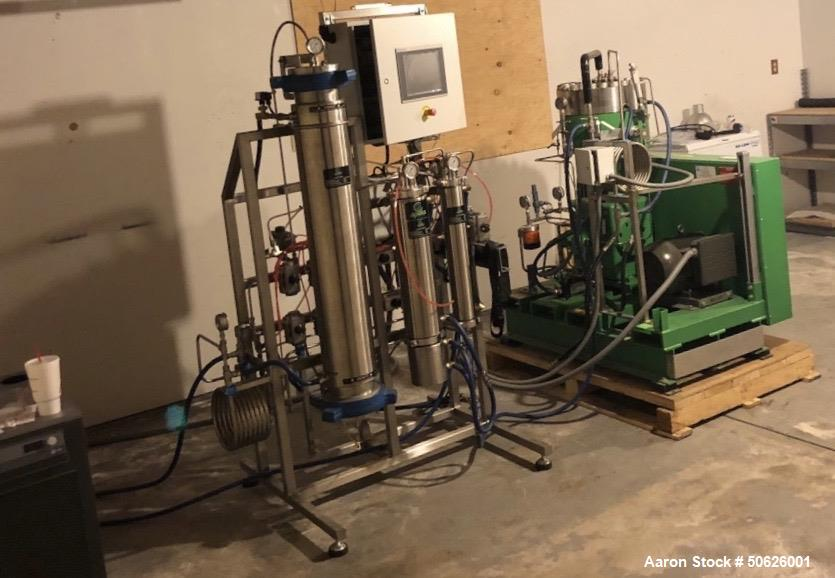 Used- Apeks Supercritical Co2 Extraction Full Line with Mixer, Freezer and Evapo