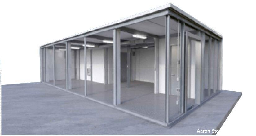 Used- M Systems Group Modular Booth