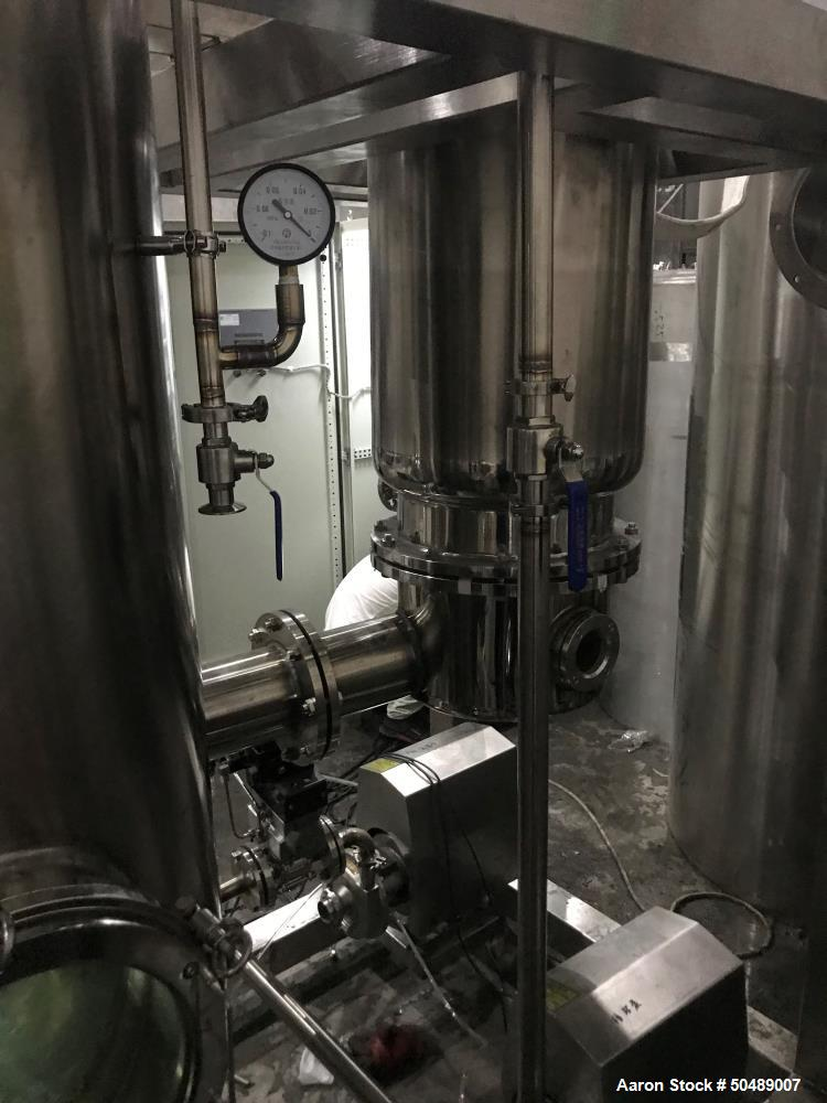 Unused- SciPhy Systems Falling Film Evaporator for Cannabis and Hemp Processes.
