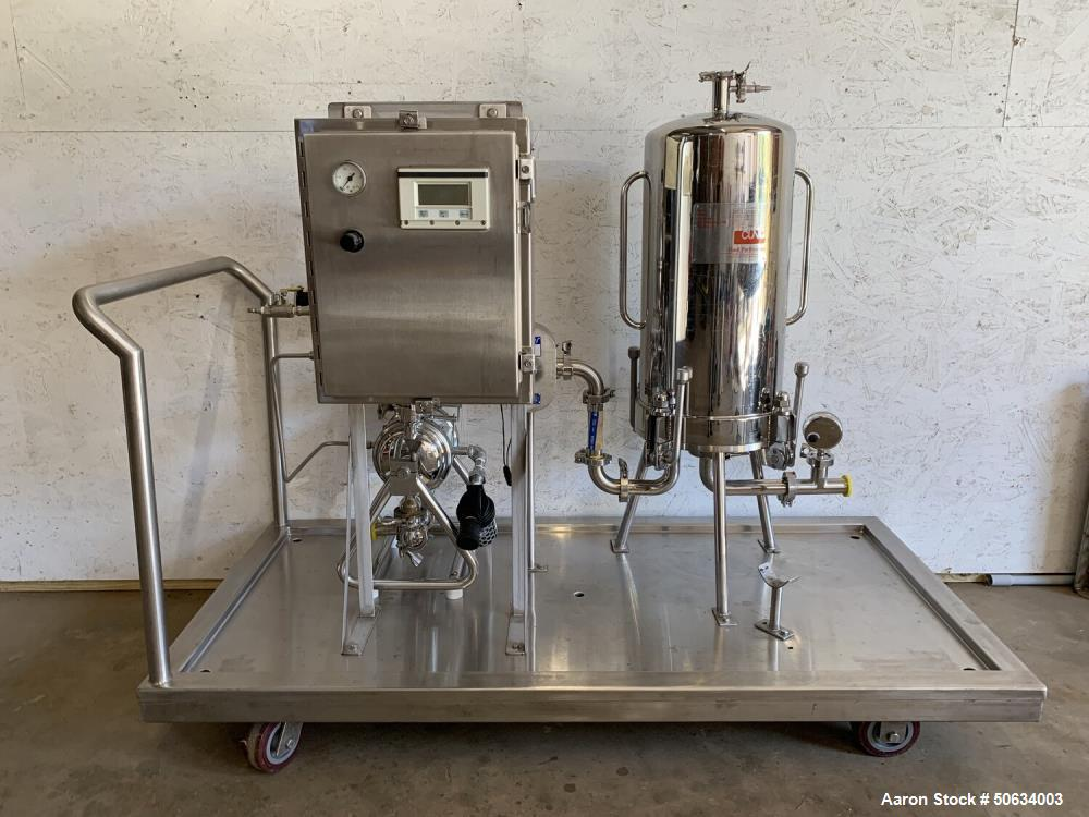 Used- CIP Skid for CBD/Hemp Processing