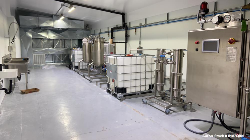 Used- Pinnacle Alcohol Extraction Skid with Pinnacle Solvent Recovery System