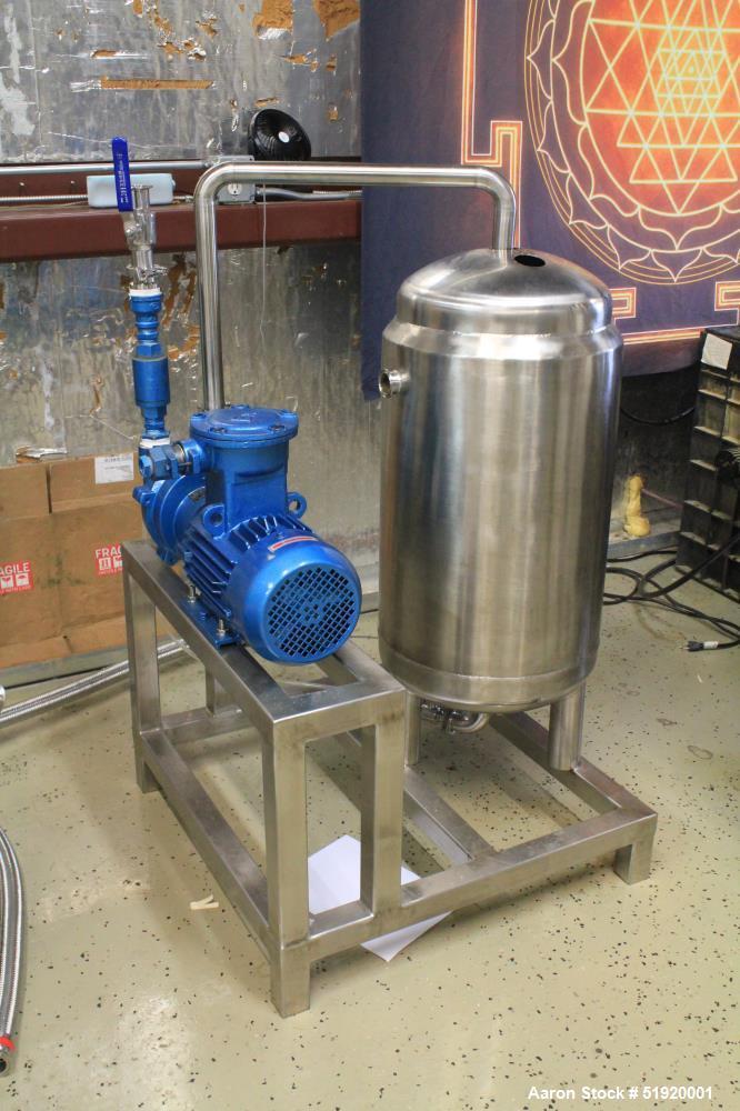 Inline Cryogenic Extraction Machine