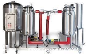 Unused- Pinnacle Stainless Alcohol Extraction Skid