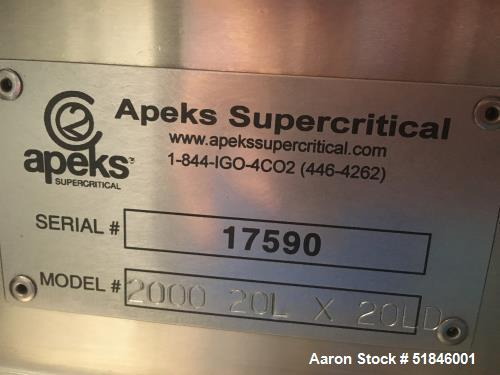 """Used-Apeks """"Transformer"""" Subcritical and Supercritical CO2 Botanical Extraction"""