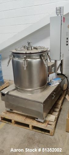 Unused- C1D1 Labs C1D2 30 Gallon Cold Centrifuge Extractor