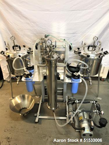 Used-Turnkey CRCfilters EP-05 Ethanol Extraction and Purification System