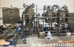 Unused-Capna Systems Complete Cannabis/Hemp Cryogenic Ethanol Extraction Line