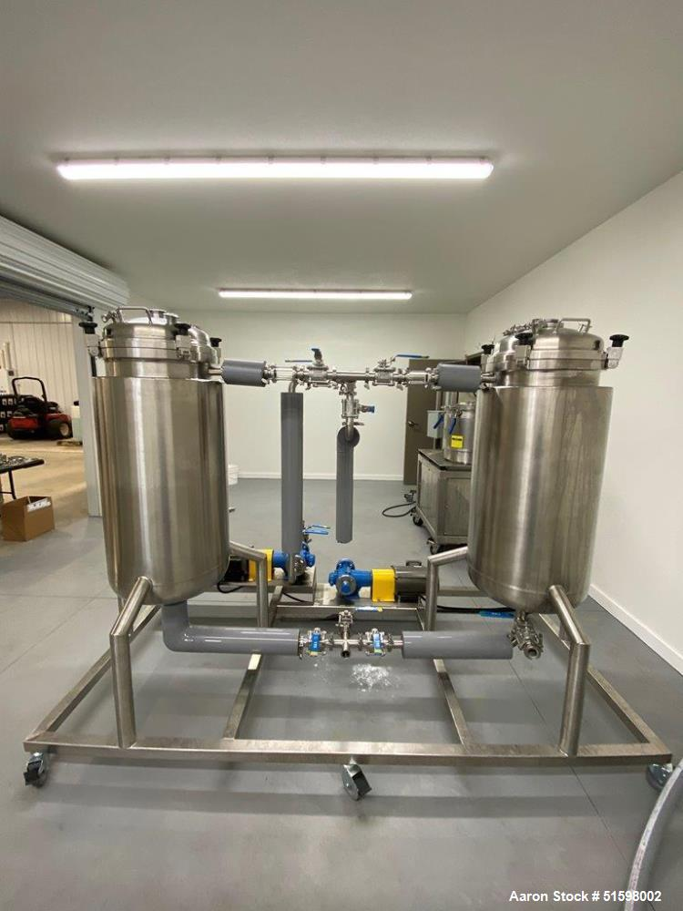 Used- Pinnacle Stainless Alcohol Extraction Skid (AES)