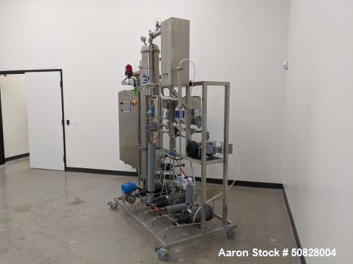 Unused- Pinnacle Stainless 100L Solvent Recovery Skid