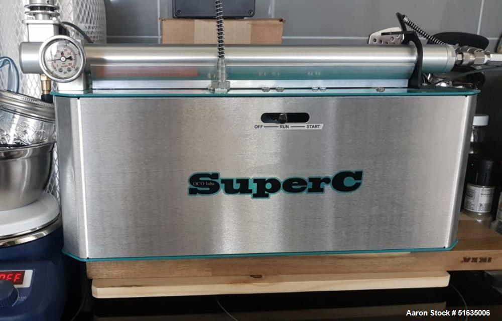 Unused - OCO Labs Supercritical Liquid CO2 Benchtop Extraction Machine