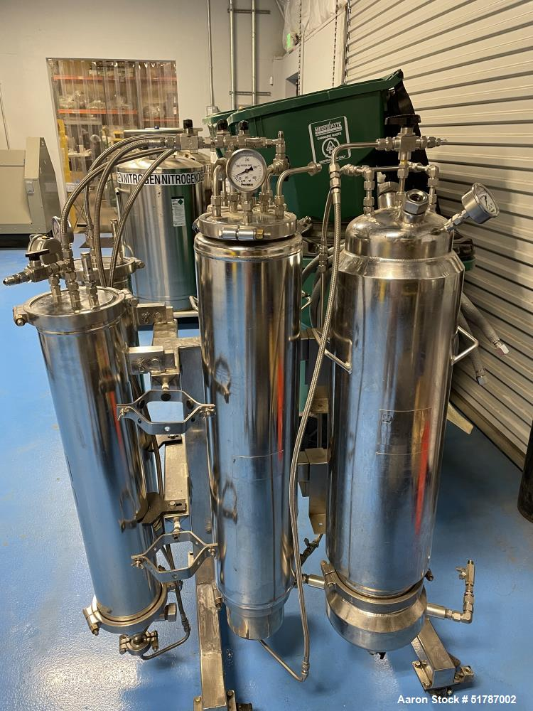 Used-Precision Extraction Multi-Solvent Closed Loop Extractor