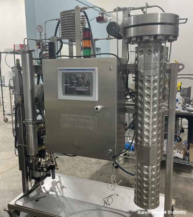 Used- MRX XTR-1 20L Supercritical CO2 Extractor System