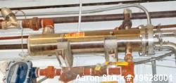 Used-Enerquip All Stainless Steel Shell and Tube Heat Exchanger
